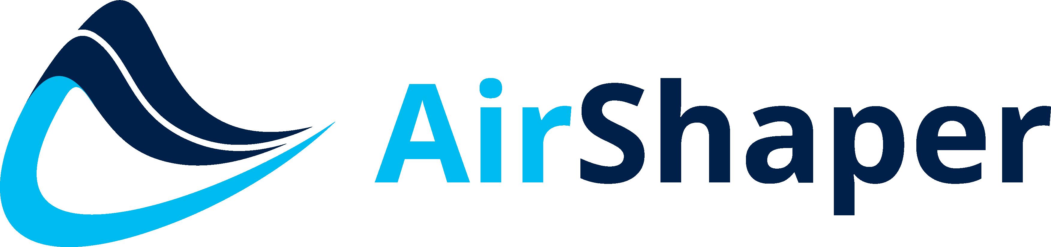 Airshaper Logo Glider Plane Design