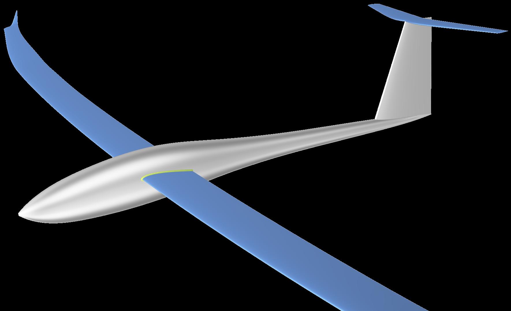 glider plane design with CAESES